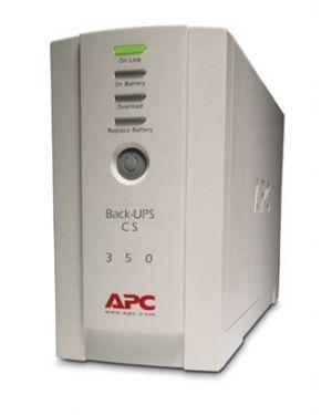 APC Back-UPS BK350EI 210 W / 350 VA