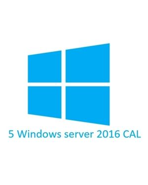 DSP Windows Server 5 CAL 2016 Clt User