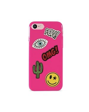 Ovitek iPhone 7/8 Patch mania roza