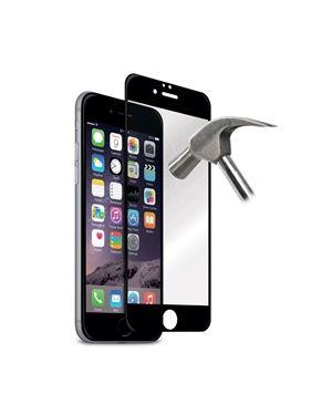 Zaščitno steklo iPhone 6/6s črno