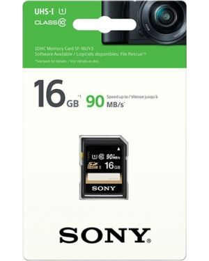 SONY SD kartica 16GB, hitrost branja do 90 MB/s