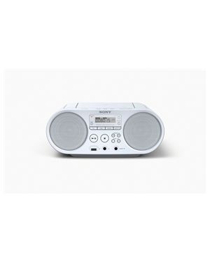 SONY radio MP3/CD z USB vhodom v beli barvi