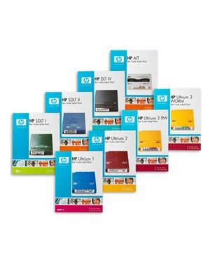 HP ultrium 2 bar code label pack(100)